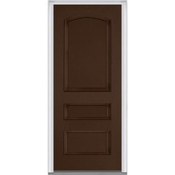 Door Build Exterior Panel Fiberglass Smooth Prehung Entry Door Model 150677351 Exterior Doors