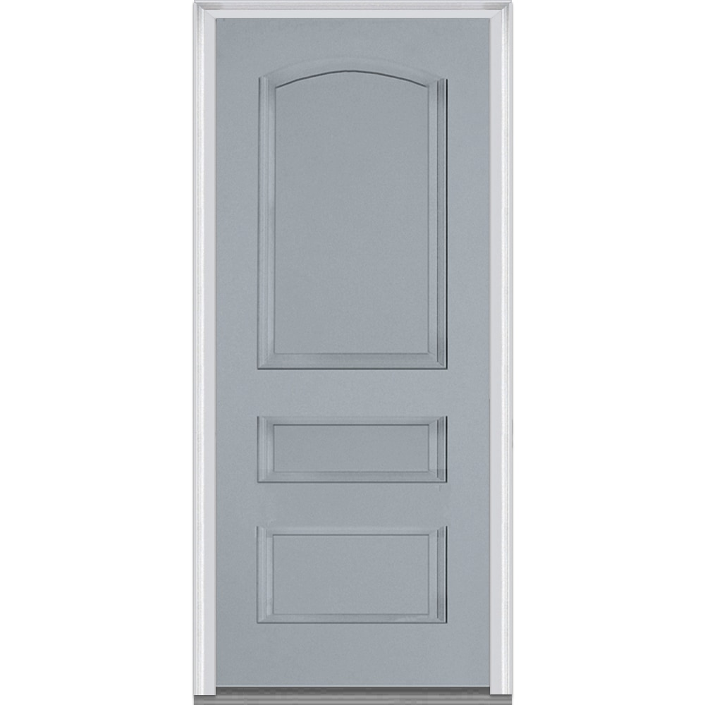 doorbuild exterior panel collection fiberglass smooth ForPrehung Exterior Doors With Storm Door