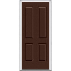 Door Build Exterior Panel Fiberglass Smooth Prehung Entry Door Type 150674181 Exterior Doors In