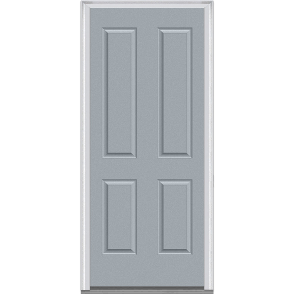 Doorbuild exterior panel collection steel prehung entry for Prehung exterior doors with storm door