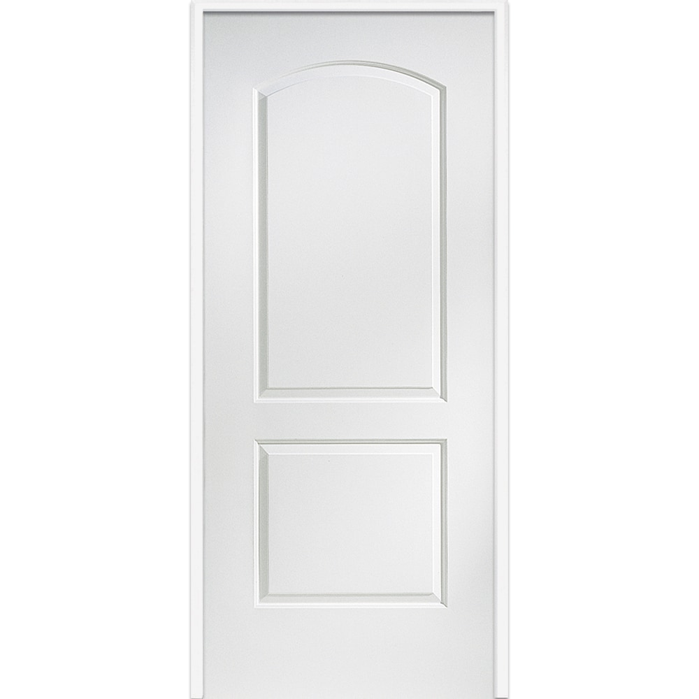 Doorbuild 20 Minute Fire Rated Collection Prehung Garage Entry Door Primed Mdf 32 In Swing