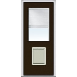 Door Build Internal Mini Blinds Fiberglass Smooth Entry Door Type 150980721 Exterior Doors in Canada