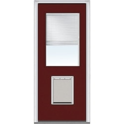 "Internal Mini Blinds Collection Door Build Steel Prehung Entry Door 32"" x 80"" Exterior Doors Type 150980441 in Canada"