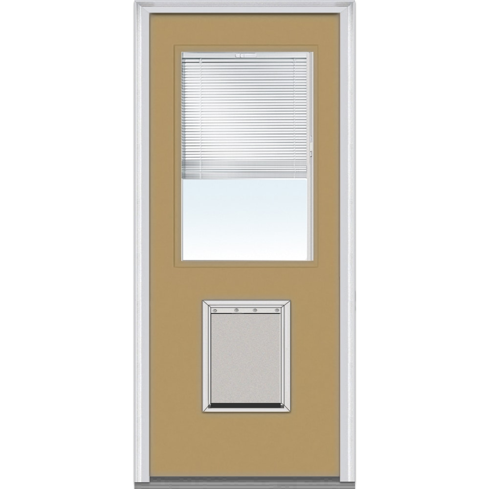 Doorbuild Internal Mini Blinds Collection Fiberglass Smooth Entry Door Sandal 32 X80 1 2