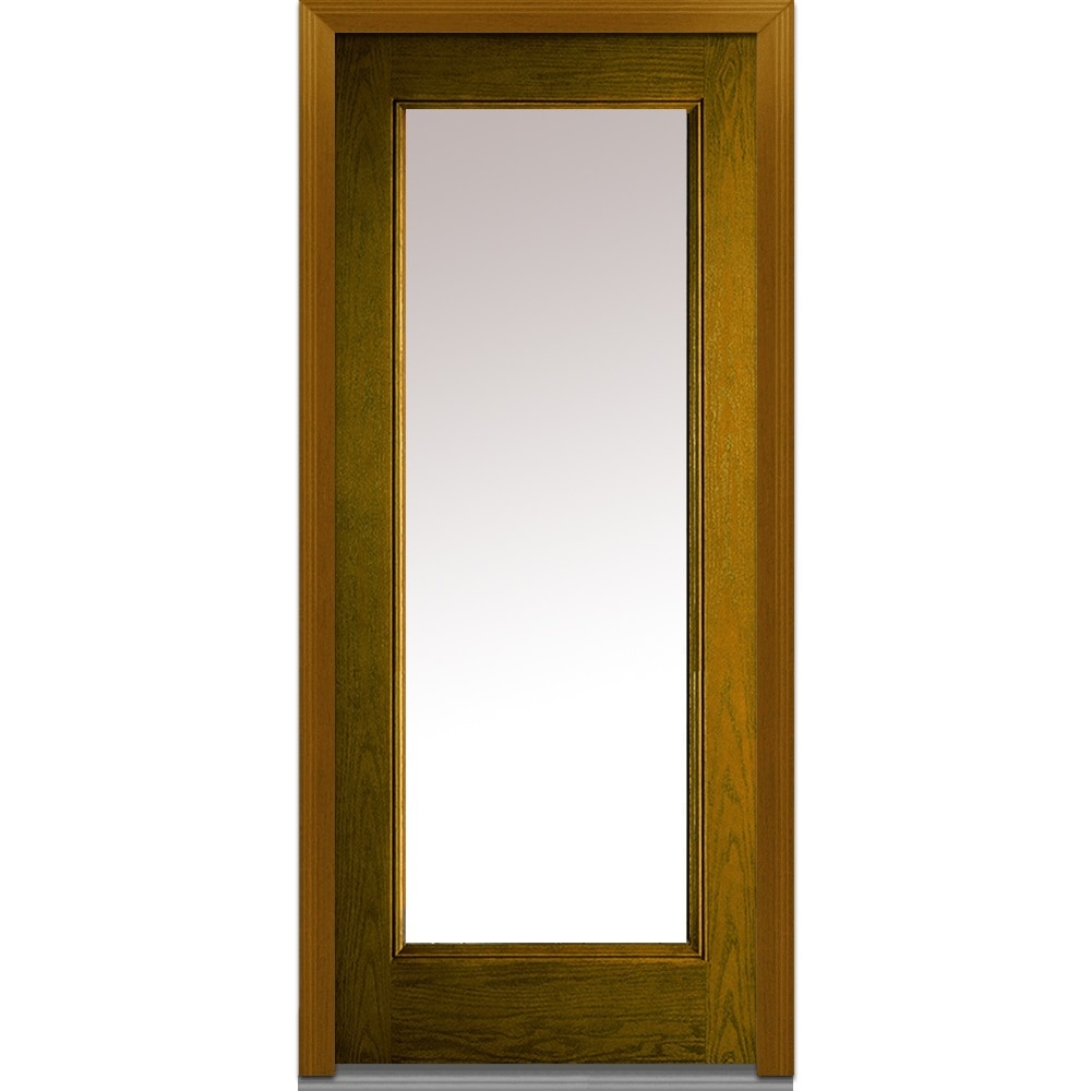 DoorBuild Classic Collection Fiberglass Oak Prehung Entry