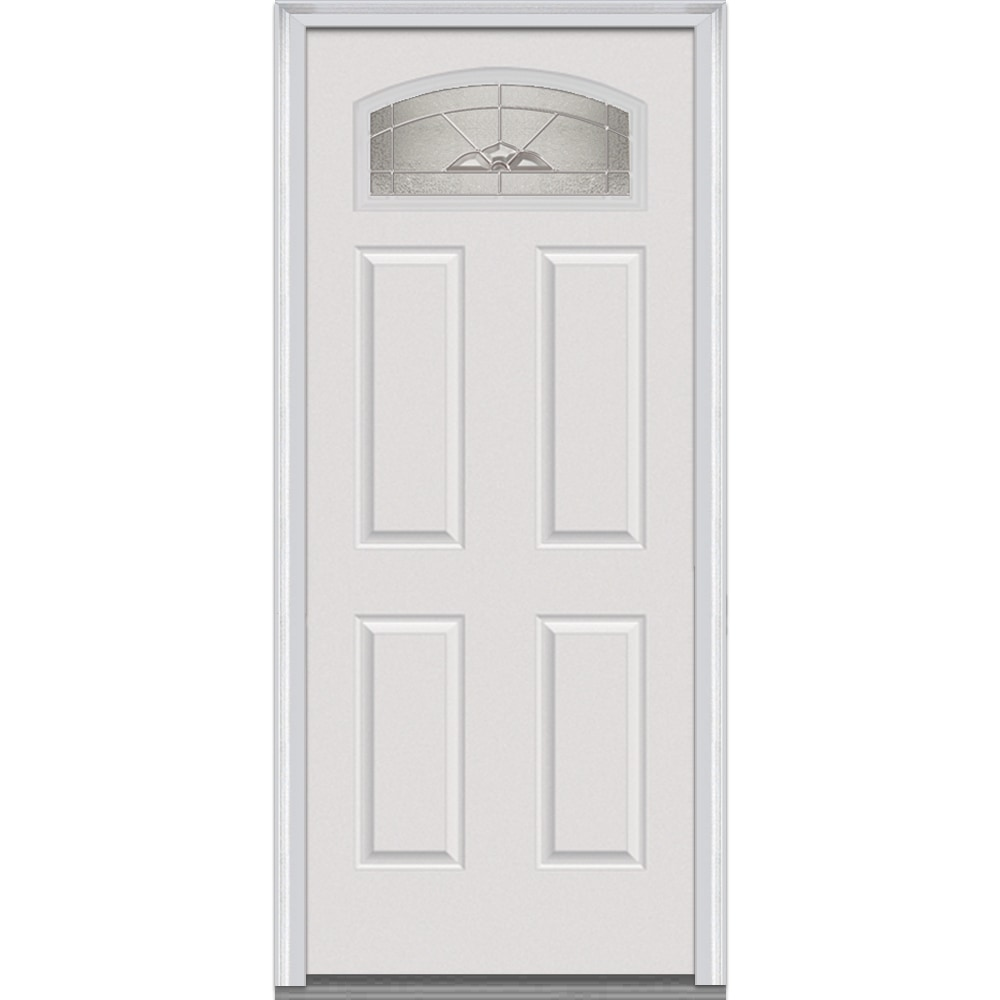 Panel Exterior Door With Glass
