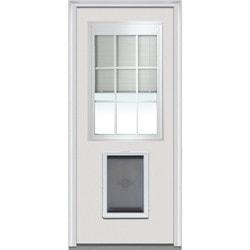 Door Build Internal Mini Blinds Fiberglass Smooth Entry Door Type 150986901 Exterior Doors in Canada