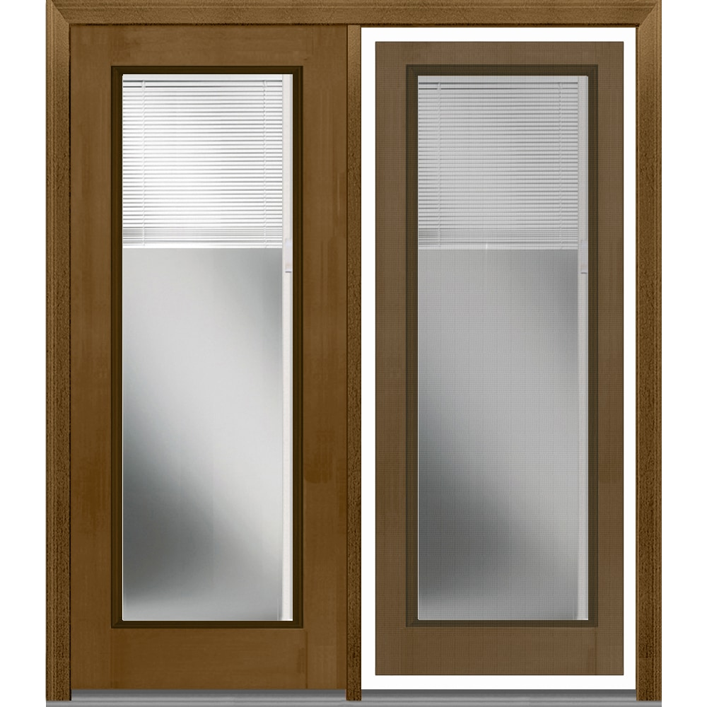 Doorbuild internal mini blinds collection fiberglass for Fiberglass patio doors