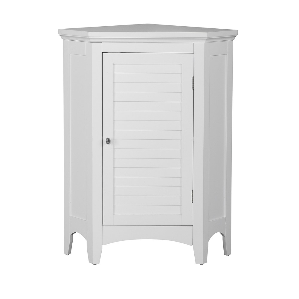 Elegant Home Fashions Slone Corner Floor Cabinet With 1