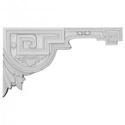"Polyurethane Onlays Ekena 11"" W x 6 3/8"" H x 1/2"" D Moldings & Millwork Onlays Type 150317691 in Canada"