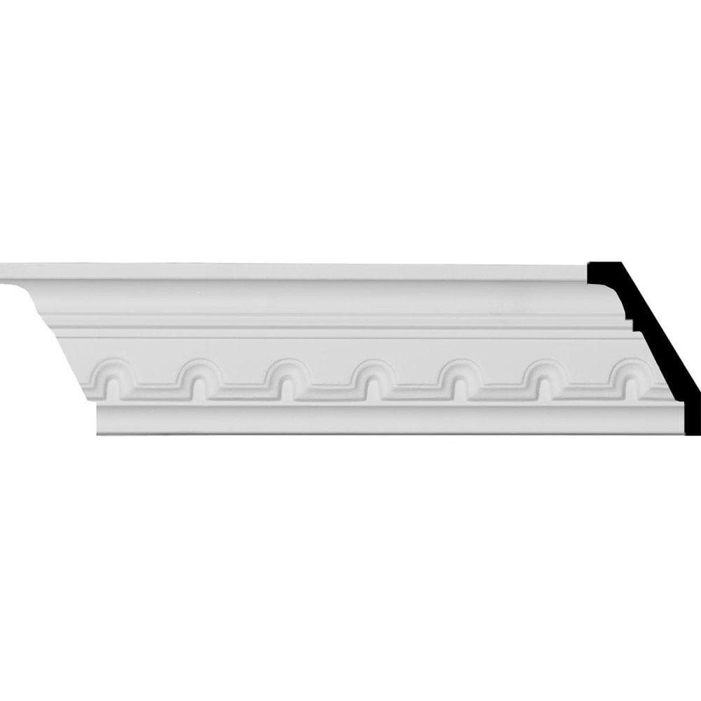 Ekena Millwork Polyurethane Crown Moldings Dentil Crown