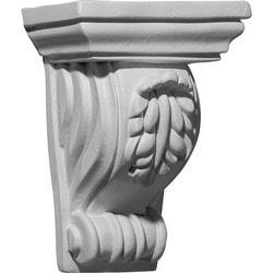 "Decorative Polyurethane Corbels Ekena 4 5/8"" W x 3"" D x 6 3/8"" H Moldings & Millwork Corbels Type 150368051 in Canada"