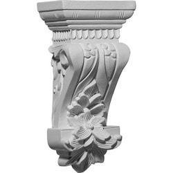 "Decorative Polyurethane Corbels Ekena 4 3/4"" W x 3 1/8"" D x 9 3/4"" H Moldings & Millwork Corbels Type 150368061 in Canada"