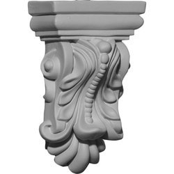 "Decorative Polyurethane Corbels Ekena 3"" W x 1 1/2"" D x 4 7/8"" H Moldings & Millwork Corbels Type 150367771 in Canada"