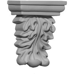 "Decorative Polyurethane Corbels Ekena 3 7/8"" W x 2 1/8"" D x 5 7/8"" H Moldings & Millwork Corbels Type 150367821 in Canada"