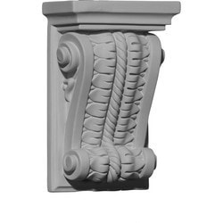 "Decorative Polyurethane Corbels Ekena 5"" W x 2 1/2"" D x 7 7/8"" H Moldings & Millwork Corbels Type 150368251 in Canada"