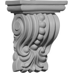 "Decorative Polyurethane Corbels Ekena 4 3/8"" W x 2 1/2"" D x 5 5/8"" H Moldings & Millwork Corbels Type 150367961 in Canada"