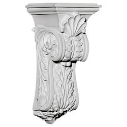 "Decorative Polyurethane Corbels Ekena 4 5/8"" W x 5 1/4"" D x 10 3/4"" H Moldings & Millwork Corbels Type 150368141 in Canada"