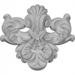 "Polyurethane Onlays Ekena 7 3/8"" W x 6 1/2"" H x 1 3/8"" Moldings & Millwork Onlays Type 150315081 in Canada"