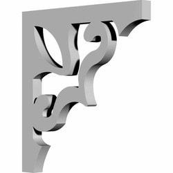 "Decorative Polyurethane Corbels Ekena 3/4"" W x 11"" D x 11"" H Moldings & Millwork Corbels Type 150367471 in Canada"