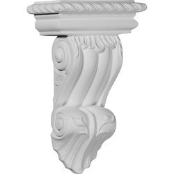 "Decorative Polyurethane Corbels Ekena 6 7/8"" W x 3 1/2"" D x 11"" H Moldings & Millwork Corbels Type 150368481 in Canada"