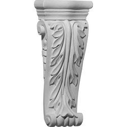 "Decorative Polyurethane Corbels Ekena 4 1/2"" W x 1 3/4"" D x 10"" H Moldings & Millwork Corbels Type 150367941 in Canada"