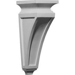 "Decorative Polyurethane Corbels Ekena 4 3/4"" W x 7 1/2"" D x 14"" H Moldings & Millwork Corbels Type 150368211 in Canada"