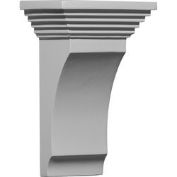 "Decorative Polyurethane Corbels Ekena 5 1/2"" W x 4 1/2"" D x 9"" H Moldings & Millwork Corbels Type 150368351 in Canada"