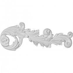 Ekena Millwork Polyurethane Onlays Model 150316551 Moldings & Millwork Onlays
