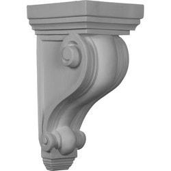 "Decorative Polyurethane Corbels Ekena 6"" W x 7"" D x 13 1/4"" H Moldings & Millwork Corbels Type 150368551 in Canada"