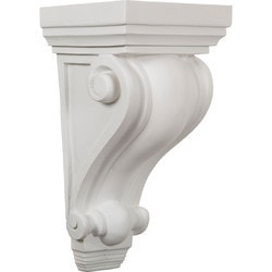 "Decorative Polyurethane Corbels Ekena 7 3/4"" W x 6 1/2"" D x 14 1/4"" H Moldings & Millwork Corbels Type 150368731 in Canada"