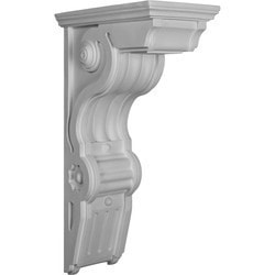 "Decorative Polyurethane Corbels Ekena 6 1/2"" W x 11"" D x 20"" H Moldings & Millwork Corbels Type 150368571 in Canada"