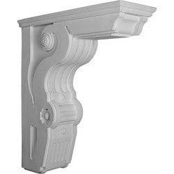 "Decorative Polyurethane Corbels Ekena 8 1/2"" W x 22 1/2"" D x 26"" H Moldings & Millwork Corbels Type 150368841 in Canada"