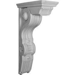 "Decorative Polyurethane Corbels Ekena 6 1/2"" W x 14 1/2"" D x 26"" H Moldings & Millwork Corbels Type 150368591 in Canada"