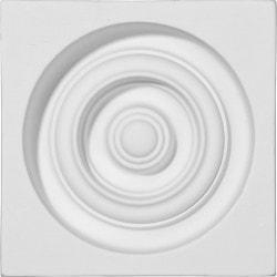 "Polyurethane Onlays Ekena 5 3/8"" W x 5 3/8"" H x 1 3/4"" Moldings & Millwork Onlays Type 150317351 in Canada"