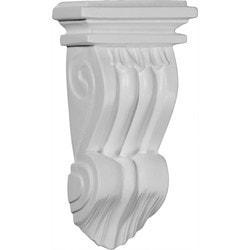 "Decorative Polyurethane Corbels Ekena 3 3/4"" W x 1 7/8"" D x 7 1/8"" H Moldings & Millwork Corbels Type 150367801 in Canada"