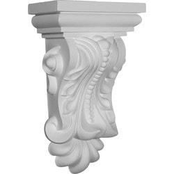 "Decorative Polyurethane Corbels Ekena 7 7/8"" W x 5 1/8"" D x 13 3/8"" H Moldings & Millwork Corbels Type 150368721 in Canada"