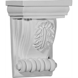 "Decorative Polyurethane Corbels Ekena 4 3/4"" W x 3 1/8"" D x 6 3/4"" H Moldings & Millwork Corbels Type 150368491 in Canada"