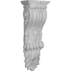Ekena Millwork Decorative Polyurethane Corbels Type 150368601 Moldings & Millwork Corbels in Canada