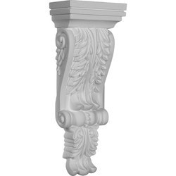 "Decorative Polyurethane Corbels Ekena 4 3/4"" W x 2 3/4"" P x 12 1/4"" H Moldings & Millwork Corbels Type 150368971 in Canada"