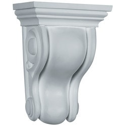 "Decorative Polyurethane Corbels Ekena 4 3/4"" W x 3 1/2"" D x 6 3/4"" H Moldings & Millwork Corbels Type 150368151 in Canada"