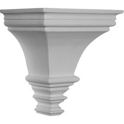 "Decorative Polyurethane Corbels Ekena 7 1/8"" W x 5 1/8"" D x 7 1/2"" H Moldings & Millwork Corbels Type 150368741 in Canada"