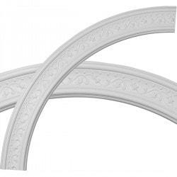 Ekena Millwork Decorative Ceiling Rings Model 150273741 Ceiling Rings