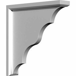 "Decorative Polyurethane Corbels Ekena 3 1/2"" W x 15"" D x 19"" H Moldings & Millwork Corbels Type 150366891 in Canada"