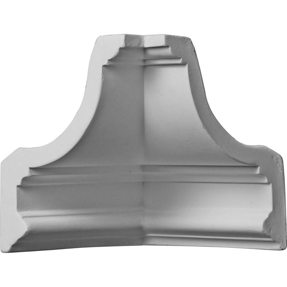 Ekena millwork polyurethane crown moldings inside corner for Polyurethane millwork