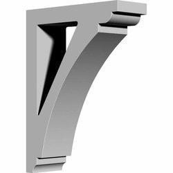 "Decorative Polyurethane Corbels Ekena 4"" W x 12"" D x 16"" H Moldings & Millwork Corbels Type 150366951 in Canada"