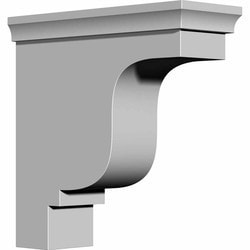 "Decorative Polyurethane Corbels Ekena 4 1/8"" W x 10 1/2"" D x 10 1/2"" H Moldings & Millwork Corbels Type 150366931 in Canada"