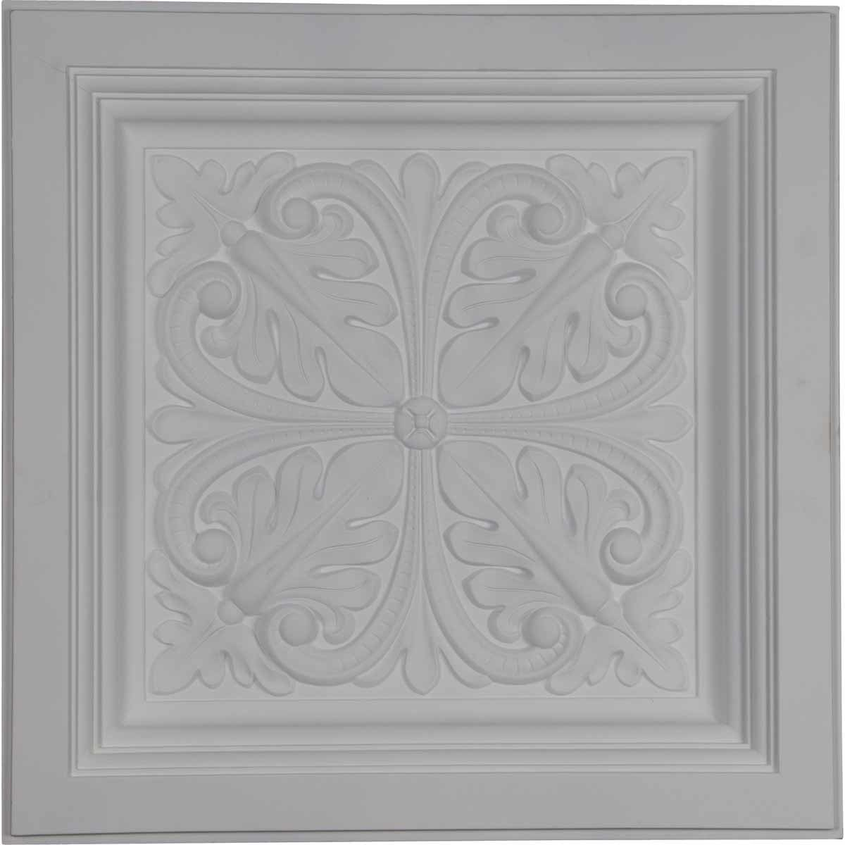 Ekena Millwork - Decorative Polyurethane Ceiling Tiles 150323831