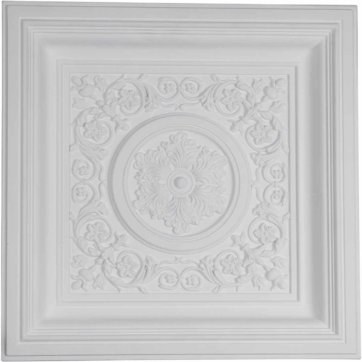 Ekena Millwork - Decorative Polyurethane Ceiling Tiles 150323911