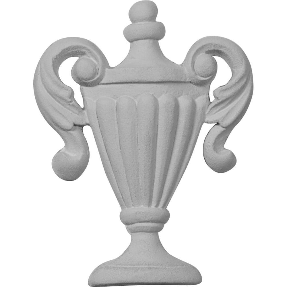 Ekena Millwork Polyurethane Onlays Federal Urn Onlay 2 1